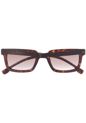 BOSS square shaped sunglasses - Brown