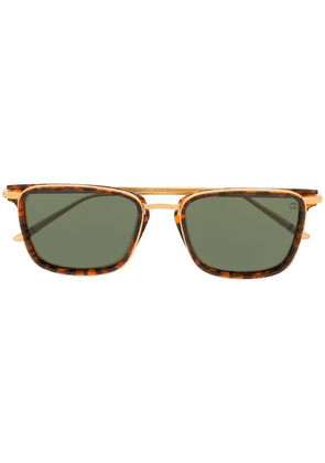 Etnia Barcelona Waterfront square sunglasses - GOLD