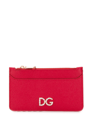Dolce & Gabbana logo wallet - Red