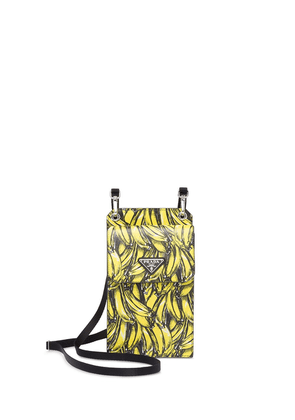 Prada Saffiano leather cellphone case - Yellow
