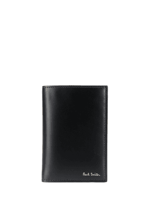 Paul Smith printed lining wallet - Black