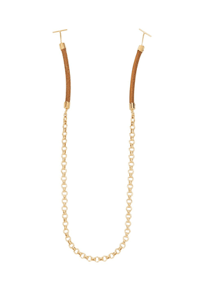 Chloé Eyewear sunglasses chain - Brown
