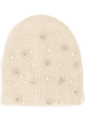 Jennifer Behr Flurries beanie - White