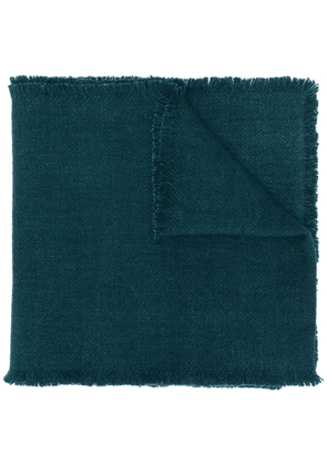 Denis Colomb four-sided fringe scarf - Green