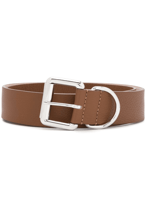 Barbara Bui cracked effect belt - Brown