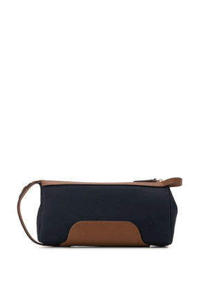 Mismo MS Prime canvas wash bag - Blue