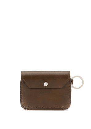 As2ov foldover small wallet - Brown