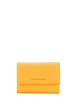 Dolce & Gabbana continental logo wallet - Yellow
