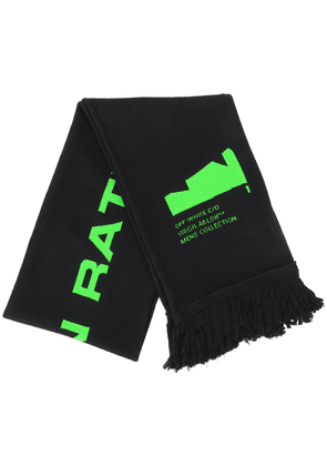 Off-White arch shapes scarf - Black