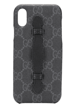 Gucci GG iPhone XS case - Black