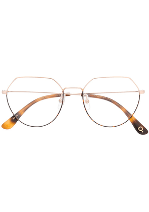 Etnia Barcelona Greenwich oversized glasses - GOLD