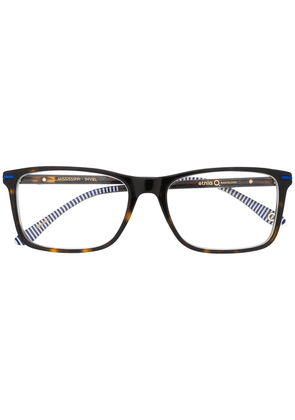 Etnia Barcelona angular glasses - Black