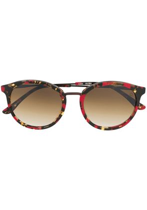 Etnia Barcelona Cies flecked sunglasses - Red
