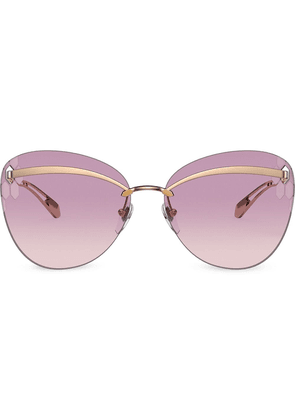 Bvlgari Serpenti Flyingscale Butterfly sunglasses - GOLD
