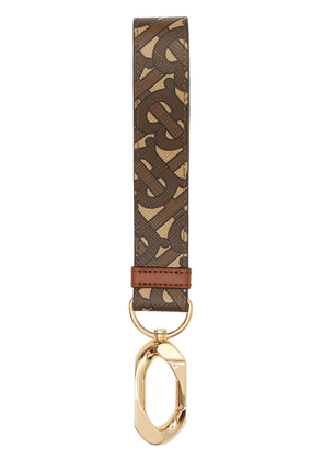 Burberry monogram print e-canvas charm - Neutrals