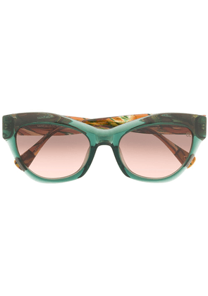 Etnia Barcelona Saint Moritz cat-eye sunglasses - Green