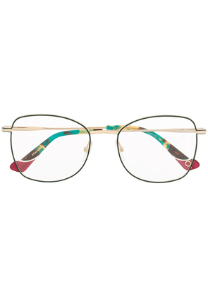 Etnia Barcelona oversized frame glasses - GOLD