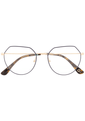 Etnia Barcelona Greenwich geometric frame glasses - Blue