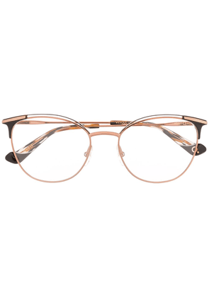 Etnia Barcelona contrast cat-eye glasses - Metallic