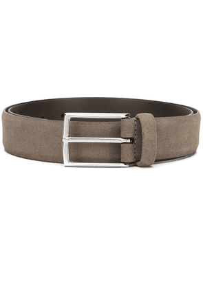 Anderson's square-buckle belt - Brown