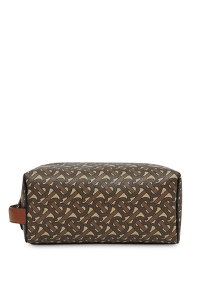 Burberry Monogram travel pouch - Brown