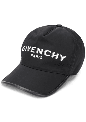 Givenchy logo embroidered cap - Black