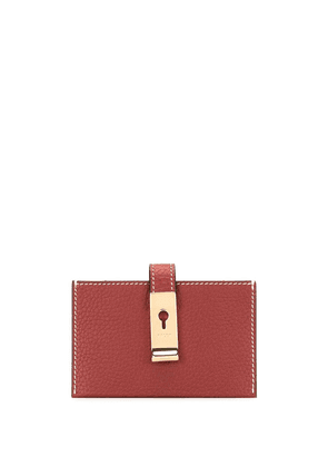 Bally accordion-style wallet - Red