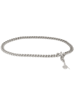 B-Low The Belt chain thin belt - SILVER