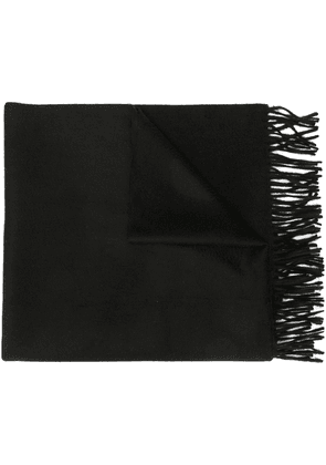 Givenchy classic knitted scarf - Black