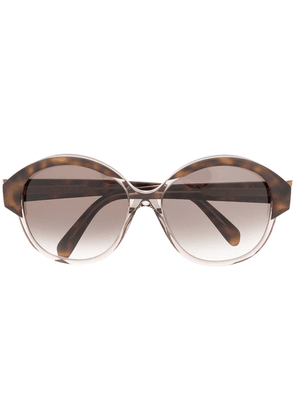 Celine Eyewear Maillon Triomphe sunglasses - Brown