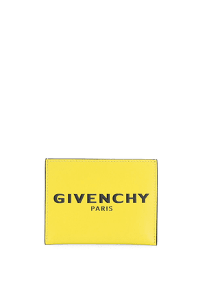 Givenchy logo embossed cardholder - Yellow