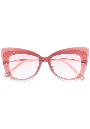 Chloé Eyewear Dree cat-eye frame sunglasses - PINK