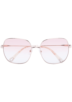 Chloé Eyewear Elliz square-frame sunglasses - NEUTRALS