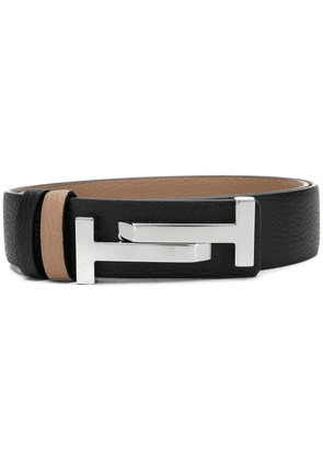 Tod's Double T buckle belt - Black