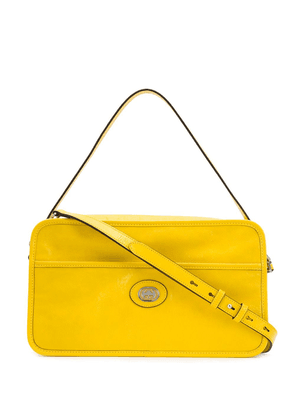 Gucci GG soft leather shoulder bag - Yellow