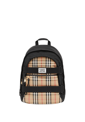Burberry medium Vintage Check Nevis backpack - Black