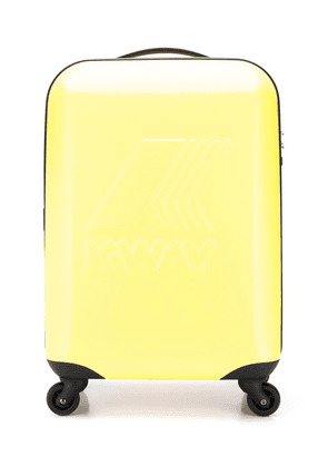 K Way Kids System Mini Trolley suitcase - Yellow
