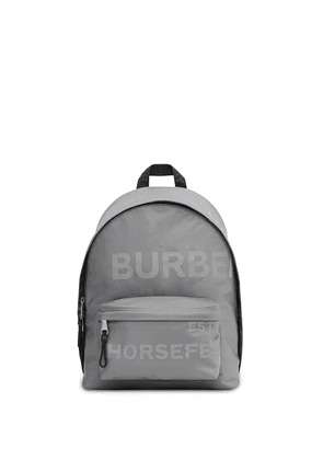 Burberry Horseferry print backpack - Grey