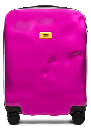 CRASH BAGGAGE Icon rolling cabin bag - PINK