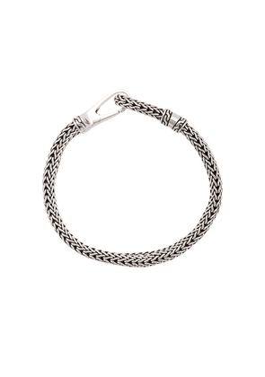 John Hardy Silver Classic Chain Bracelet with Hook Clasp - Metallic