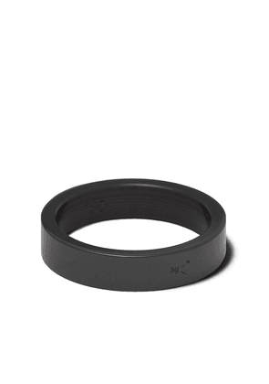 Le Gramme Le 3 Grammes ceramic ring - BLACK