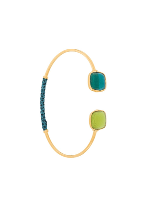 Gas Bijoux glass bead bangle - GOLD