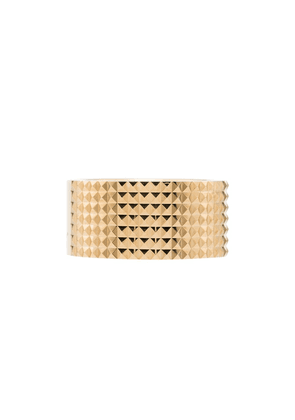 Le Gramme Guilloche smooth ring - Gold