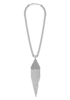 Gucci Crystal necklace with pendant - Metallic