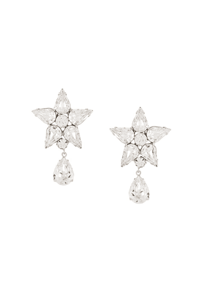 Jennifer Behr Celina crystal earrings - SILVER