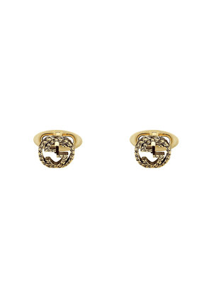 Gucci 18kt yellow gold cufflinks