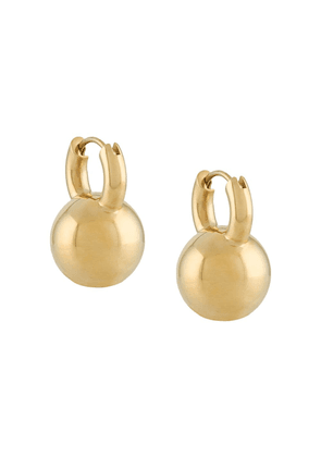 All Blues polished ball earrings - GOLD