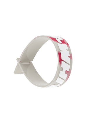 Off-White industrial rubber bracelet - Multicolour