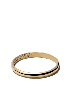 Le Gramme 18kt yellow polished gold Le 2 Grammes half bangle ring -