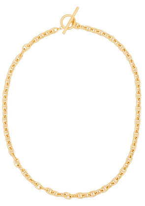 All Blues gold vermeil chain-link necklace